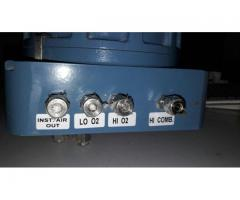 Oxygen / Combustible Analyser
