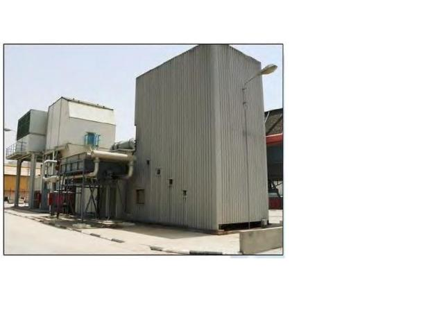 ACEC / Westinghouse Gas Turbine compartment