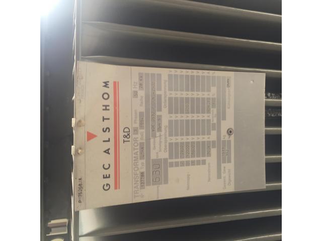 Alsthom 10Kv / 400 V Transformer